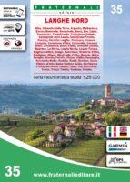 FRA-35 Langhe Nord | wandelkaart 1:25.000 9788897465515  Fraternali Editore Fraternali 1:25.000  Wandelkaarten Turijn, Piemonte