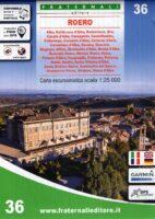 FRA-36  Roero | wandelkaart 1:25.000 9788897465522  Fraternali Editore   Wandelkaarten Turijn, Piemonte
