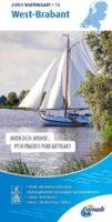 WTK-13  West-Brabant Waterkaart 9789018046088  ANWB ANWB Waterkaarten  Watersportboeken Noord-Brabant