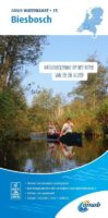 WTK-15  Biesbosch Waterkaart 9789018046101  ANWB ANWB Waterkaarten  Watersportboeken Den Haag, Rotterdam en Zuid-Holland, Noord-Brabant