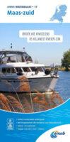 WTK-17 Maas - zuid Waterkaart 9789018046125  ANWB ANWB Waterkaarten  Watersportboeken Maastricht en Zuid-Limburg