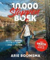 10.000 Stappenboek | Arie Boomsma 9789018047856 Arie Boomsma ANWB   Wandelgidsen Nederland