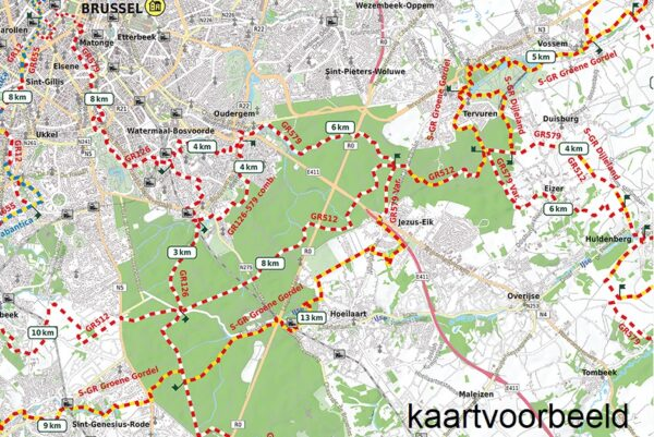 AVGR-5 Namen, Maas en Franse Ardennen | wandelkaart 1:85.000 9789082844382  Alta Via GR-Wandelkaarten België  Meerdaagse wandelroutes, Wandelkaarten Wallonië (Ardennen)