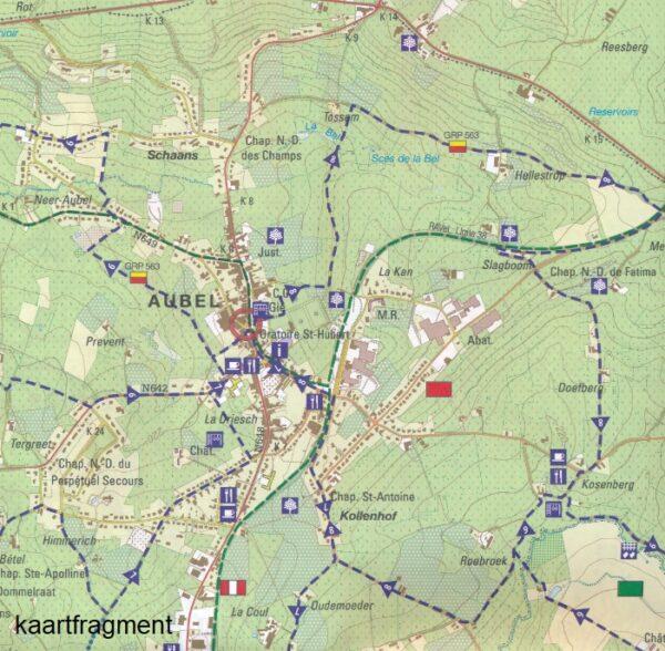 Omgeving Aubel | wandelkaart 1:25.000 9789462353404  NGI NGI/VVV-kaarten 25d  Wandelkaarten Wallonië (Ardennen)
