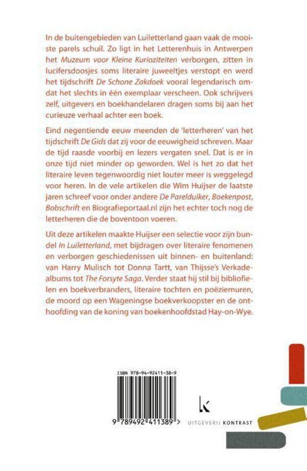 In Luiletterland | Wim Huijser 9789492411389 Wim Huijser Kontrast   Reisverhalen Reisinformatie algemeen