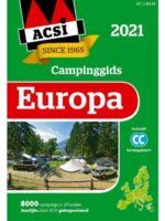 ACSI Campinggids Europa 2021 9789493182028  ACSI   Campinggidsen Europa