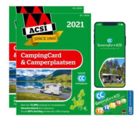 ACSI CampingCard & Camperplaatsen 2021 9789493182080  ACSI   Campinggidsen, Op reis met je camper Europa