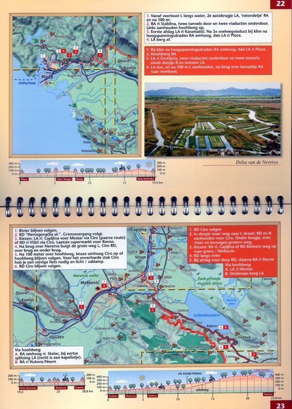 Balkan Kustroute | fietsgids BALKANKR Erik van den Boom Benjaminse Uitgeverij   Fietsgidsen, Meerdaagse fietsvakanties Balkan, Kroatië