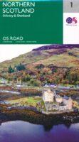 RM-1  Northern Scotland, wegenkaart Noord-Schotland 9780319263730  Ordnance Survey Road Map 1:250.000  Landkaarten en wegenkaarten de Schotse Hooglanden (ten noorden van Glasgow / Edinburgh), Shetland & Orkney