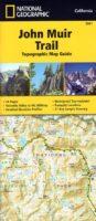 John Muir Trail | atlasje met wandelkaarten 1:63.360 9781566956895  Tom Harrisons Maps   Wandelkaarten California, Nevada