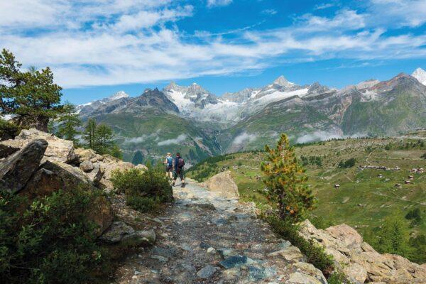 Walking in Zermatt and Saas-Fee | wandelgids 9781786310750 Jonathan and Lesley Williams Cicerone Press   Wandelgidsen Wallis