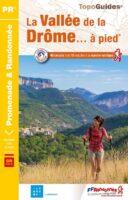 P263  la Vallée de la Drôme | wandelgids 9782751410956  FFRP Topoguides  Wandelgidsen Ardèche, Drôme