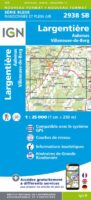 SB-2938SB: Aubenas, Largentière 9782758534426  IGN IGN 25 Ardèche / Drôme  Wandelkaarten Ardèche, Drôme