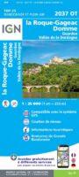 2037 OT: Domme, Gourdon, Vallée Dordogne | wandelkaart 1:25.000 9782758542957  IGN IGN 25 Dordogne  Wandelkaarten Dordogne