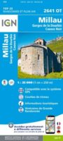 2641OT   Millau, Gorges de la Dourbie | wandelkaart 1:25.000 9782758545439  IGN IGN 25 Lot, Tarn, Aveyron  Wandelkaarten Lot, Tarn, Toulouse