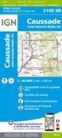 SB-2140SB  Caussade, Saint-Antonin-Noble-Val 9782758546153  IGN IGN 25 Bourgogne & Morvan  Wandelkaarten Lot, Tarn, Toulouse