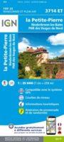 3714ET  La Petite Pierre (PNR des Vosges du Nord) | wandelkaart 1:25.000 9782758550440  IGN ING 25 Vogezen  Wandelkaarten Vogezen