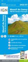 2432ET  Massif du Sancy, St-Nectaire | wandelkaart 1:25.000 9782758551492  IGN IGN 25 Auvergne  Wandelkaarten Auvergne