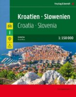 Wegenatlas Kroatie, Slovenie 1:150.000 9783707918441  Freytag & Berndt Wegenatlassen  Wegenatlassen Westelijke Balkan