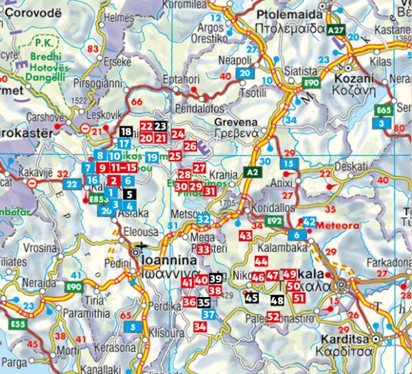 Rother wandelgids Pindosgebirge mit Meteora | Rother Wanderführer 9783763345618  Bergverlag Rother RWG  Wandelgidsen Midden en Noord-Griekenland, Athene