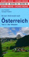 Mit dem Wohnmobil nach Österreich (2)   campergids Oostenrijk west 9783869036038  Womo   Op reis met je camper, Reisgidsen Oostenrijk