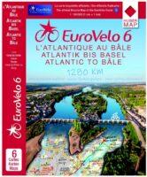 Eurovelo 6: Atlantische Oceaan - Zwitserland 9783943752007  Huber Verlag   Fietskaarten Frankrijk