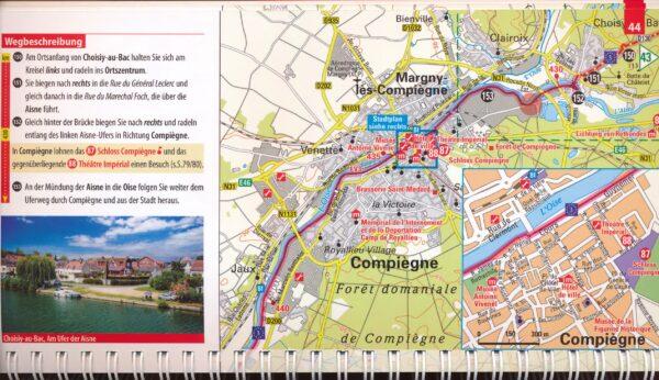 Eurovelo 3   fietgids Aken - Parijs 9783969900352  ADFC / BVA ADFC-Radausflugsführer  Fietsgidsen, Meerdaagse fietsvakanties Europa