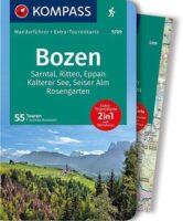 Kompass Wanderführer Bozen | wandelgids Bolzano e.o. 9783990443507  Kompass   Wandelgidsen Zuid-Tirol, Dolomieten