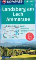 KP-189 Landsberg am Lech, Ammersee | Kompass wandelkaart 1:50.000 9783990447475  Kompass Wandelkaarten Kompass Duitsland  Wandelkaarten München en omgeving