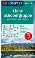 wandelkaart KP-48 Lienz-Schobergruppe | Kompass 9783990448366  Kompass Wandelkaarten Kompass Oostenrijk  Wandelkaarten Osttirol