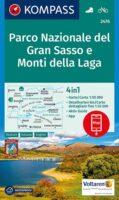 KP-2476  Gran Sasso d Italia 1:50.000 | Kompass wandelkaart 9783990448557  Kompass Wandelkaarten Kompass Italië  Wandelkaarten Abruzzen en Molise