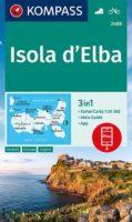 KP-2468  Elba 1:25.000   Kompass wandelkaart 9783990448885  Kompass Wandelkaarten Kompass Italië  Wandelkaarten Elba