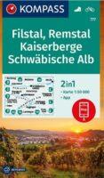 wandelkaart KP-777 Kaiserberge/Filstal | Kompass 9783990449967  Kompass Wandelkaarten Kompass Bodensee / Schw. Alb  Wandelkaarten Bodenmeer, Schwäbische Alb