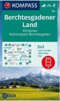 KP-794  Berchtesgadener Land | Kompass wandelkaart 9783991210276  Kompass Wandelkaarten Kompass Duitsland  Wandelkaarten Beierse Alpen
