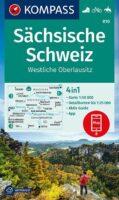 KP-810  Sächsische Schweiz | Kompass wandelkaart 9783991210672  Kompass Wandelkaarten Kompass Sachsen  Wandelkaarten Sächsische Schweiz, Elbsandsteingebirge, Erzgebirge