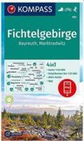 KP-191 Fichtelgebirge | Kompass wandelkaart 1:50.000 9783991210702  Kompass Wandelkaarten Kompass Duitsland  Wandelkaarten Franken, Nürnberg, Altmühltal