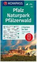 KP-826  Pfalz Naturpark Pfälzerwald | Kompass 9783991210757  Kompass Wandelkaarten Kompass Duitsland  Lopen naar Rome, Wandelkaarten Pfalz, Deutsche Weinstrasse, Rheinhessen