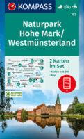 KP-753 NP Hohe Mark | Kompass wandelkaart 9783991210788  Kompass Wandelkaarten Kompass Nordrhein-Westfalen  Wandelkaarten Münsterland