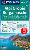 KP-104  Alpi Orobie Bergamasche | Kompass wandelkaart 9783991211204  Kompass Wandelkaarten Kompass Italië  Wandelkaarten Milaan, Lombardije, Italiaanse Meren