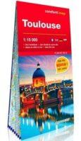Toulouse, plan de ville 1:12.500 (stadsplattegrond) 9788381903769  Comfort Map   Stadsplattegronden Lot, Tarn, Toulouse