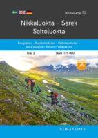OK-02  Nikkaluokta, Sarek, Saltoluokta 1:75.000 9789113104997  Norstedts Outdoorkartan (Fjällkartan)  Wandelkaarten Zweden boven Uppsala