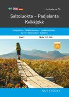 OK-03 Saltoluokta / Padjelanta / Kvikkjok 1:75.000 9789113105000  Norstedts Outdoorkartan (Fjällkartan)  Wandelkaarten Zweden boven Uppsala