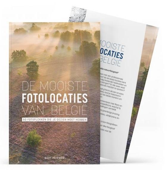 De mooiste fotolocaties van België 9789464072914 Bart Heirweg Birdpix   Fotoboeken België & Luxemburg