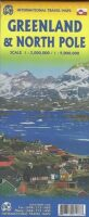 Greenland   landkaart 1:1.500.000 9781771293136  ITM   Landkaarten en wegenkaarten Groenland