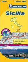 365 Sicilia | Michelin  wegenkaart, autokaart 1:200.000 9782067127272  Michelin Michelin Italië 1:200.000  Landkaarten en wegenkaarten Sardinië