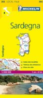 366  Sardinie | Michelin  wegenkaart, autokaart 1:200.000 9782067127289  Michelin Michelin Italië 1:200.000  Landkaarten en wegenkaarten Sardinië