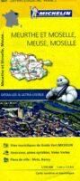 307  Meurthe et Moselle, Meuse, Moselle | wegenkaart, fietskaart 1:150.000 9782067202085  Michelin Local / Departementskaarten  Landkaarten en wegenkaarten Lotharingen, Nancy, Metz