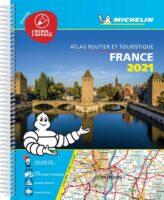 France Tourisme 1/250.000 (A4 multiflex) 2021 9782067248991  Michelin Wegenatlassen  Wegenatlassen Frankrijk