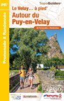 P43F  le Puy-en-Velay et ses environs  | wandelgids 9782751411533  FFRP Topoguides  Wandelgidsen Auvergne