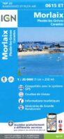 0615ET  Morlaix, Lanmeur, Plougasnou | wandelkaart 1:25.000 9782758542896  IGN IGN 25 Bretagne  Wandelkaarten Bretagne